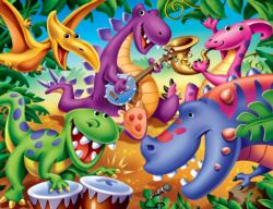 Dinosaurs Cartoons Children's Puzzles