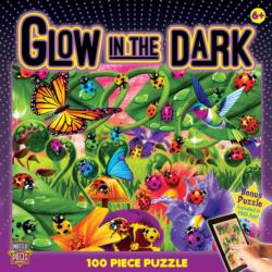 Ladybugs (Glow in the Dark) Butterflies and Insects Jigsaw Puzzle