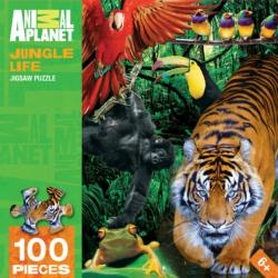 Jungle Life Tigers Jigsaw Puzzle
