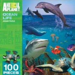 Ocean Life (Animal Planet) Marine Life Jigsaw Puzzle