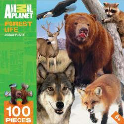 Forest Life (Animal Planet) Wolves Jigsaw Puzzle
