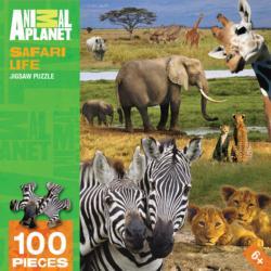 Safari Life Zebras Jigsaw Puzzle
