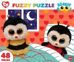 Snuggle Buddies (Fuzzy Puzzle) Butterflies and Insects Jigsaw Puzzle