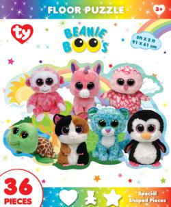 Fun at the Park Ty© Beanie Boo™ Shaped Floor Puzzle Unicorns Jigsaw Puzzle
