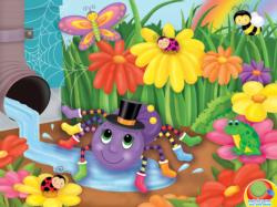 The Itsy, Bitsy Spider Cartoons Jigsaw Puzzle