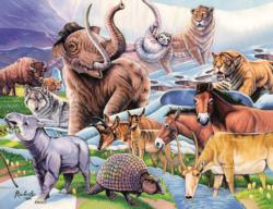Ice Age Friends Collage Children's Puzzles