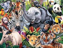 Safari Friends Jungle Animals Jigsaw Puzzle