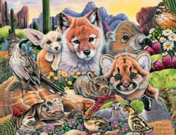 Desert Friends Animals Jigsaw Puzzle