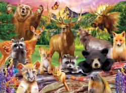 National Parks Animals Children's Puzzles