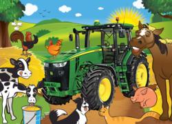 Hanging Out Farm Animals Jigsaw Puzzle