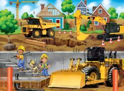 In My Neighborhood Construction Children's Puzzles