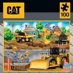 Caterpillar - In My Neighborhood Construction Jigsaw Puzzle