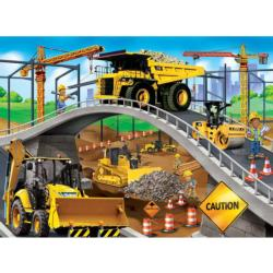 Caterpillar - Under The Bridge Construction Jigsaw Puzzle