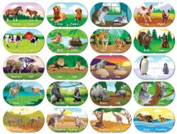 Animals Matching Educational Children's Puzzles