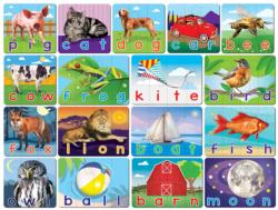Spelling Matching Puzzle Educational Children's Puzzles