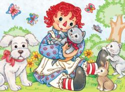Best Friends (Raggedy Ann & Andy) Nostalgic / Retro Children's Puzzles
