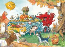 Dinner Time (Tractor Mac) Food and Drink Children's Puzzles