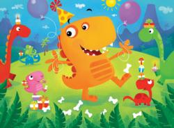 Dino Party (Lil Puzzler) Dinosaurs Children's Puzzles