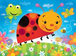Bug Buddies (Lil Puzzler) Butterflies and Insects Children's Puzzles