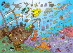 Underwater Under The Sea Children's Puzzles