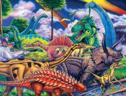 Animal Planet - Dinosaur Friends Dinosaurs Jigsaw Puzzle