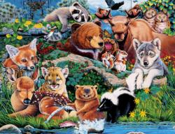 Animal Planet - Forest Friends Jungle Animals Jigsaw Puzzle