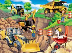 Day at the Quarry Construction Children's Puzzles