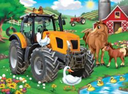 Farmer Miller's Pond Farm Jigsaw Puzzle