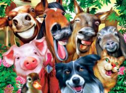 Barnyard Besties - Scratch and Dent Pig Jigsaw Puzzle
