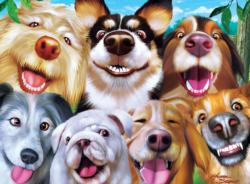 Goofy Grins Dogs Jigsaw Puzzle