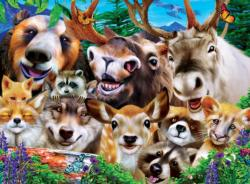Woodland Wackiness Animals Jigsaw Puzzle