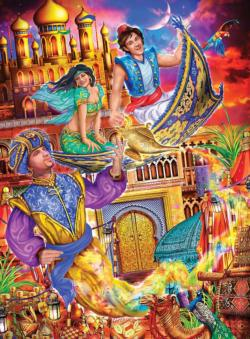 Aladdin Movies / Books / TV Children's Puzzles