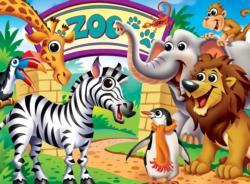 Zoo Animals Animals Children's Puzzles