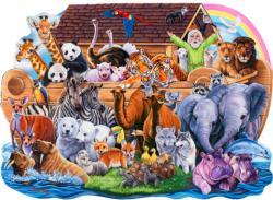 Noah's Ark Shaped Puzzle Religious Children's Puzzles