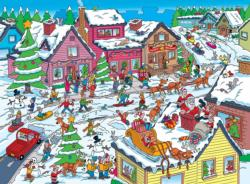 Things to Spot at Christmas Christmas Children's Puzzles