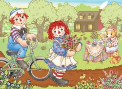 Raggedy Ann & Andy Bike Ride Movies / Books / TV Children's Puzzles