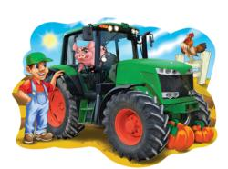 Tractor Town Pig Children's Puzzles