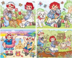 Raggedy Ann & Andy Nostalgic / Retro Multi-Pack