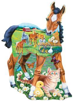 Pony Playtime Horses Jigsaw Puzzle