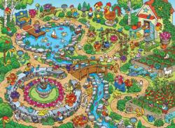In the Garden Garden Children's Puzzles
