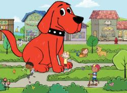 Clifford Town Square Cartoons Children's Puzzles