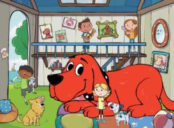 Clifford Doghouse Cartoons Children's Puzzles
