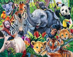 Safari Friends Animals Children's Puzzles