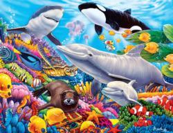 Undersea Friends Dolphins Children's Puzzles