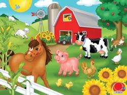 Old McDonalds Farm Animals Children's Puzzles