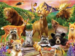 Wildlife of the National Parks Wildlife Children's Puzzles