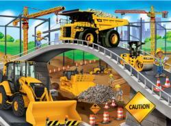 Under the Bridge Construction Children's Puzzles