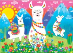 Llama Love Animals Children's Puzzles