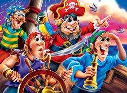 Pirates Cartoon Jigsaw Puzzle
