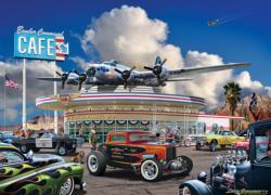 Bomber Command Café Nostalgic / Retro Jigsaw Puzzle